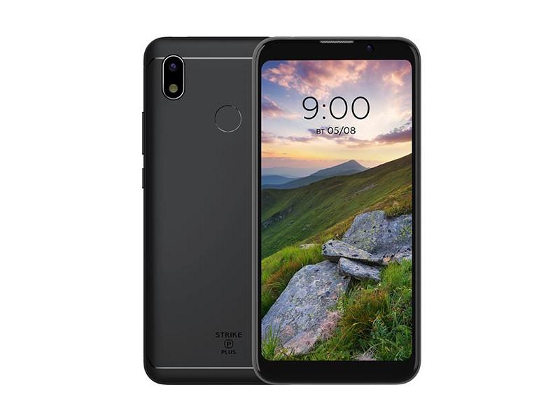 Сотовый телефон BQ 5535L Strike Power Plus Black цена и фото