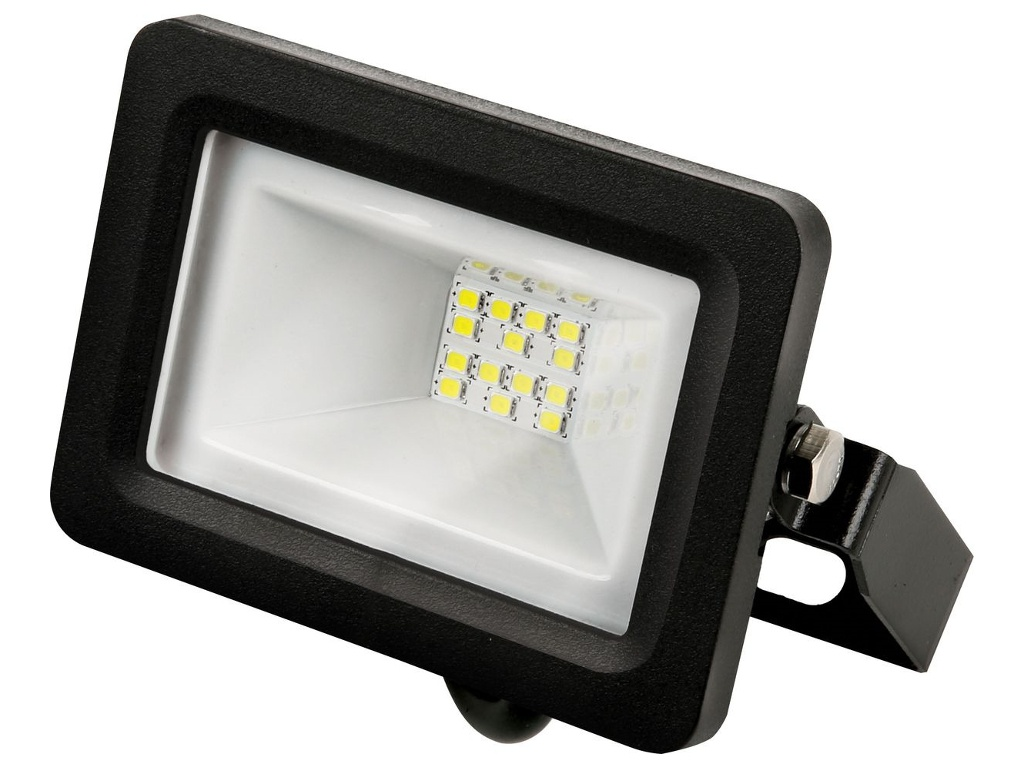 Прожектор Gauss LED 10W 670Lm IP65 3000K Black 613527110