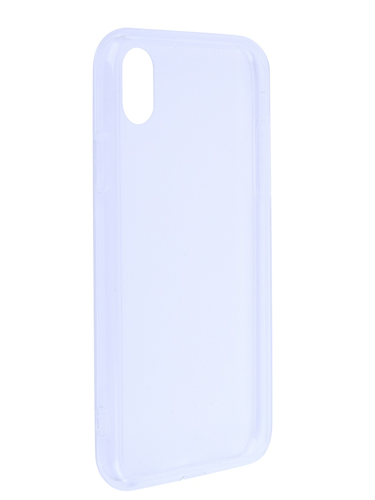 Аксессуар Чехол Liberty Project для APPLE iPhone Xr Glass Case Transparent-Transparent Frame 0L-00042113