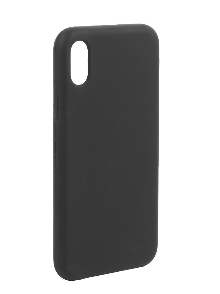 Аксессуар Чехол Liberty Project для APPLE iPhone X/Xs Silicone Protect Cover Black 0L-00041864 аксессуар чехол liberty project для apple iphone x rainbow glass case gold 0l 00040365