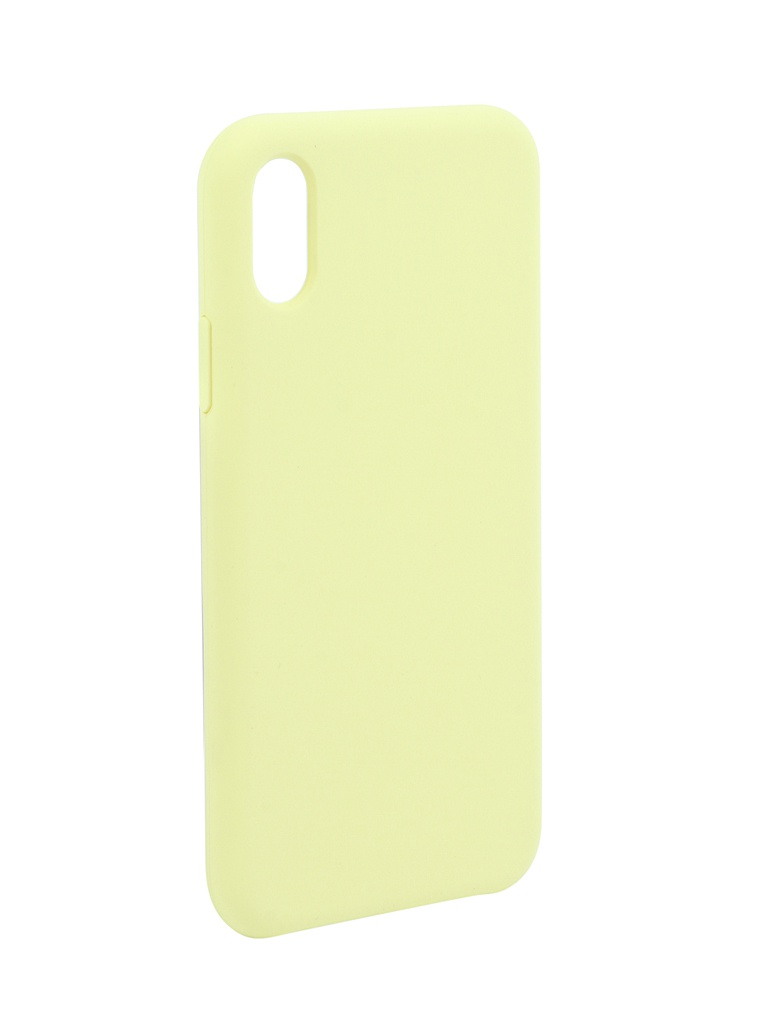 Чехол Liberty Project для APPLE iPhone X/Xs Silicone Protect Cover Yellow 0L-00042170