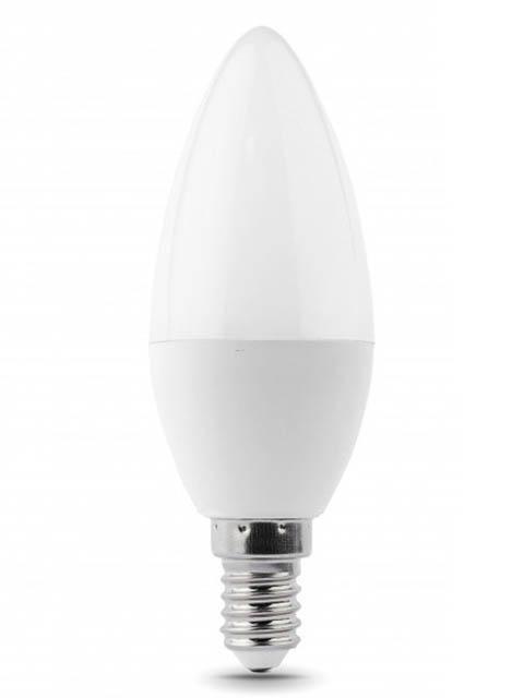 Лампочка Gauss Elementary E14 Свеча 6W 470Lm 6500K 33136 лампочка gauss elementary gu5 3 mr16 5 5w 470lm 6500k 13536