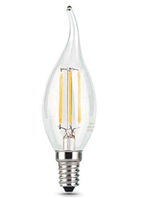 Лампочка Gauss Filament E14 Свеча на ветру 7W 550Lm 2700K Step Dimmable 104801107-S