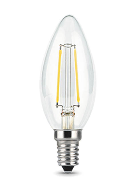 Лампочка Gauss Filament E14 Свеча 7W 580Lm 4100K Step Dimmable 103801207-S