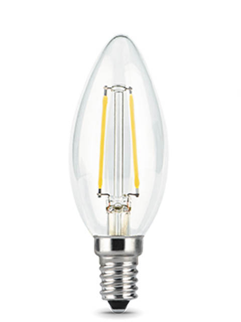 Лампочка Gauss Filament E14 Свеча 7W 550Lm 2700K Step Dimmable 103801107-S