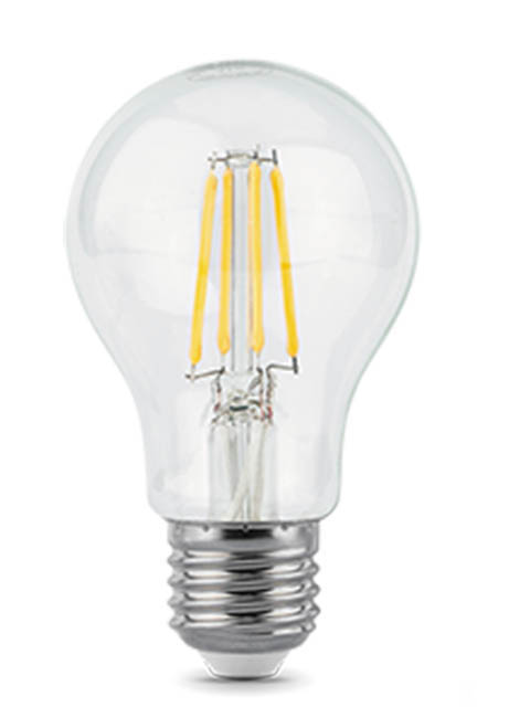 Лампочка Gauss Filament E27 A60 10W 930Lm 2700K Step Dimmable 102802110-S