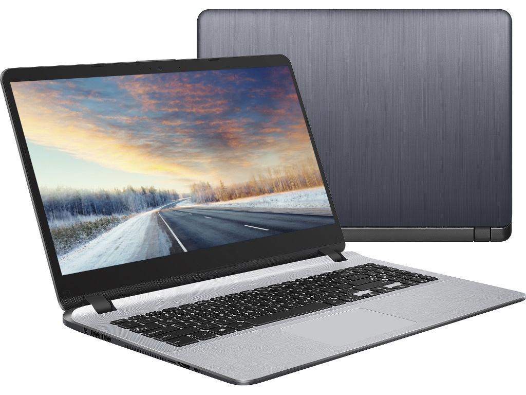 Ноутбук ASUS A507UF-BQ361 90NB0JB1-M04300 (Intel Core i5-8250U 1.6 GHz/8192Mb/1000Gb/No ODD/nVidia GeForce MX130 2048Mb/Wi-Fi/Bluetooth/Cam/15.6/1920x1080/Endless)