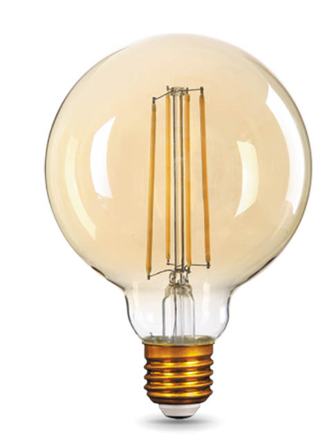 Лампочка Gauss Filament E27 G95 8W 740Lm 2400K Golden 105802008