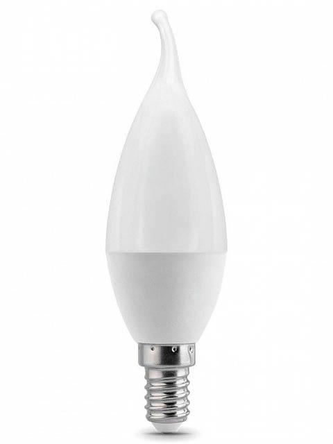 Лампочка Gauss E14 Свеча на ветру 6.5W 550Lm 4100K 104101207
