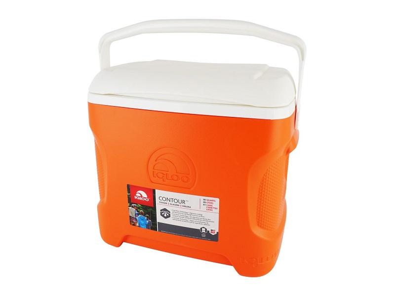 Термоконтейнер Igloo Contour 30 28L Orange 00049106