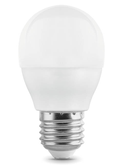 Лампочка Gauss E27 Шар-dim 7W 590Lm 4100K 105102207-D