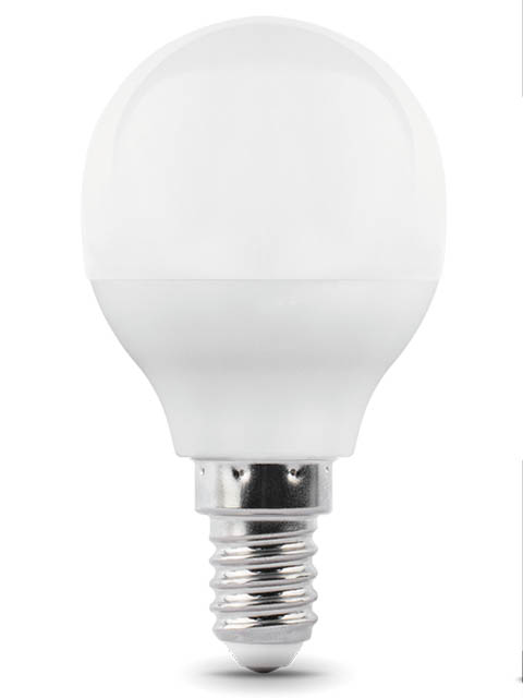 Лампочка Gauss E14 Шар-dim 7W 560Lm 3000K 105101107-D