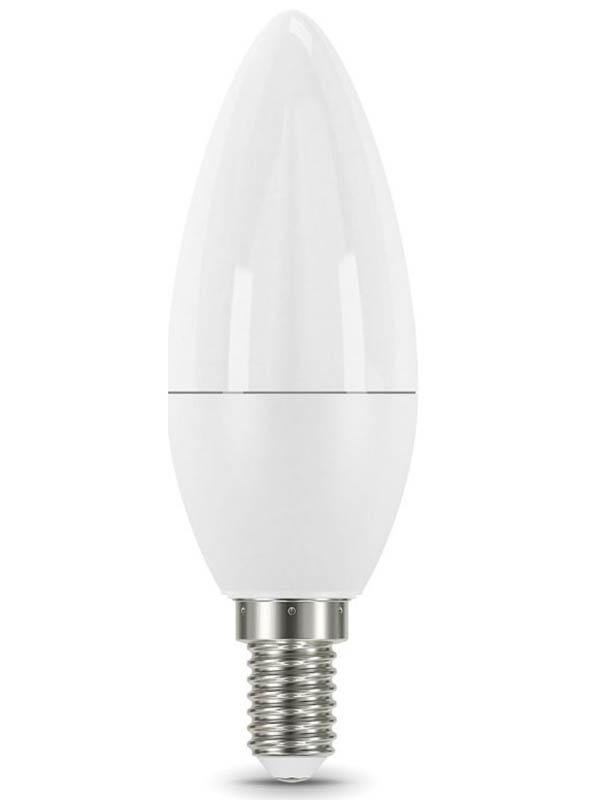 Лампочка Gauss E14 Свеча-dim 7W 560Lm 3000K 103101107-D
