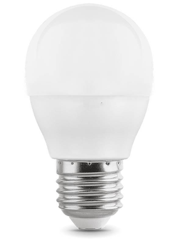 цена Лампочка Gauss Elementary E27 Шар 6W 420Lm 3000K 53216 онлайн в 2017 году