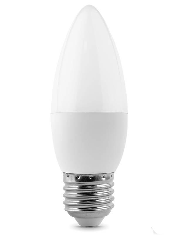Лампочка Gauss Elementary E27 Свеча 8W 520Lm 3000K 33218 лампочка gauss elementary e27 a60 20w 3000k 23219