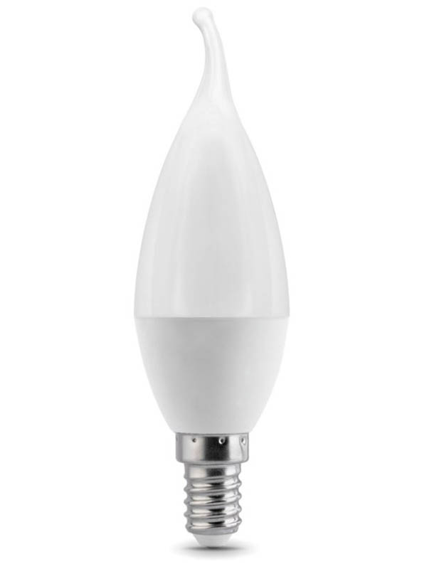 Лампочка Gauss E14 Свеча на ветру 6.5W 520Lm 3000K 104101107