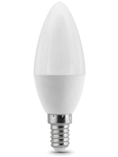 Лампочка Gauss E14 Свеча 6.5W 520Lm 3000K 103101107