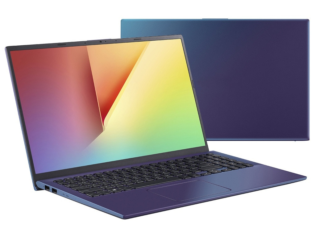 Ноутбук ASUS VivoBook X512UF-BQ133T 90NB0KA6-M02230 (Intel Core i5-8250U 1.6 GHz/8192Mb/1000Gb+128Gb SSD/No ODD/nVidia GeForce MX 130 2048Mb/Wi-Fi/Bluetooth/Cam/15.6/1920x1080/Windows 10)