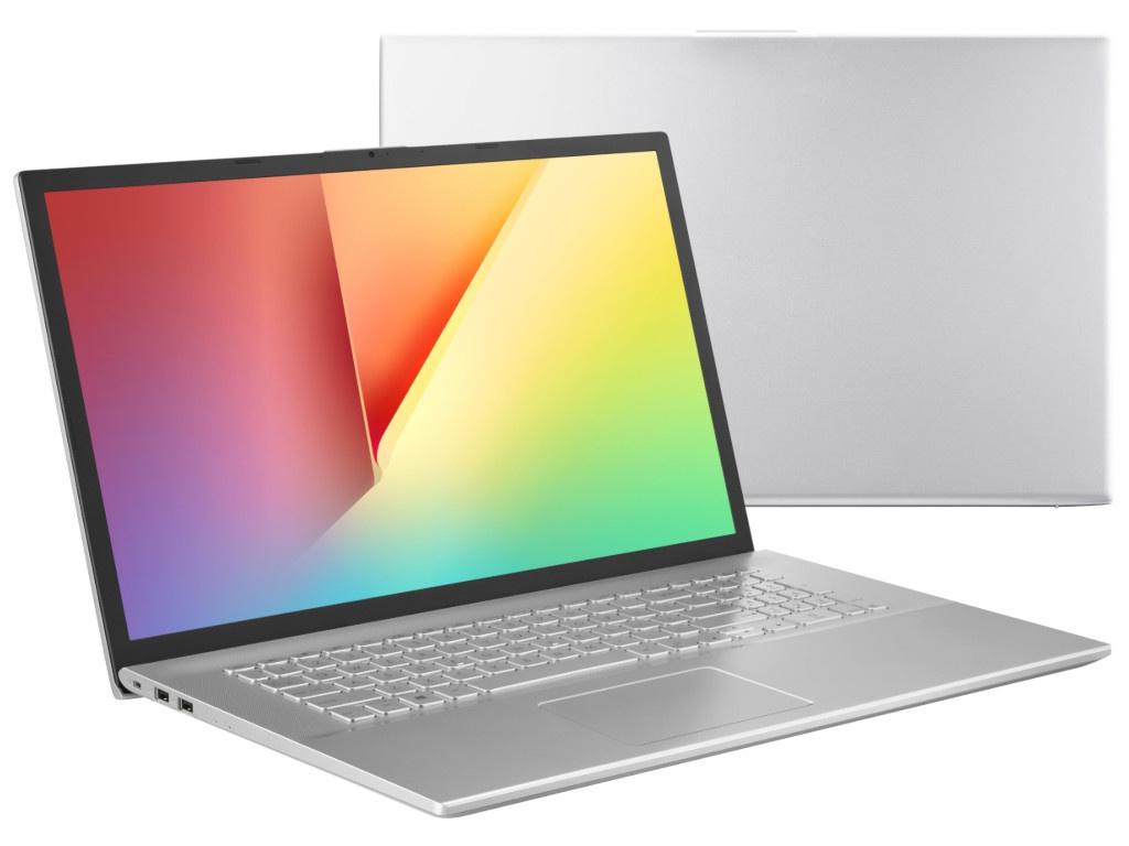 Ноутбук ASUS VivoBook X712FB-BX014T 90NB0L41-M00140 (Intel Core i5-8265U 1.6 GHz/8192Mb/1000Gb+128Gb SSD/No ODD/nVidia GeForce MX 110 2048Mb/Wi-Fi/Bluetooth/Cam/17.3/1600x900/Windows 10) цена
