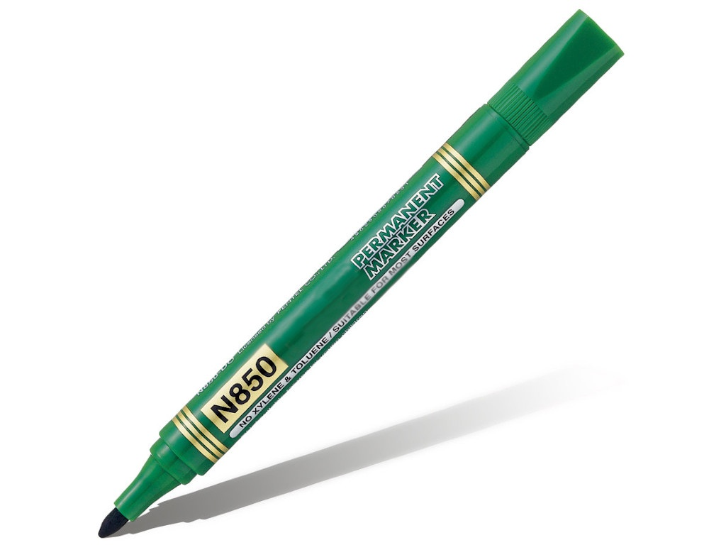 Маркер Pentel 4.2mm Green N850-D