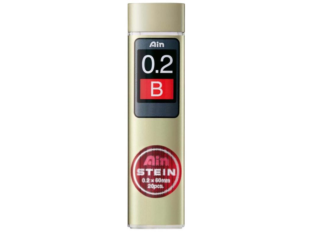 Грифель Pentel Ain Stein 0.2mm 20шт C272W-B