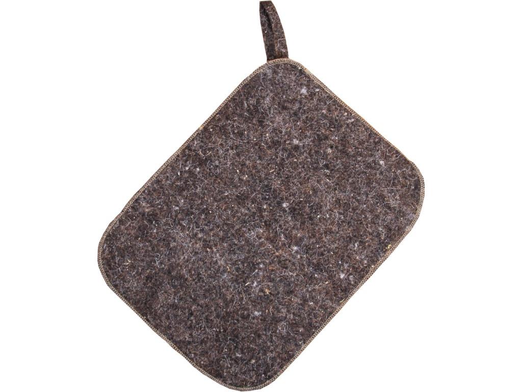 Коврик для бани Добропаровъ Классический 40x30cm Grey 2593220 камень для бани добропаровъ кварцит колотый 3294483 20 кг фракция 70 120 мм