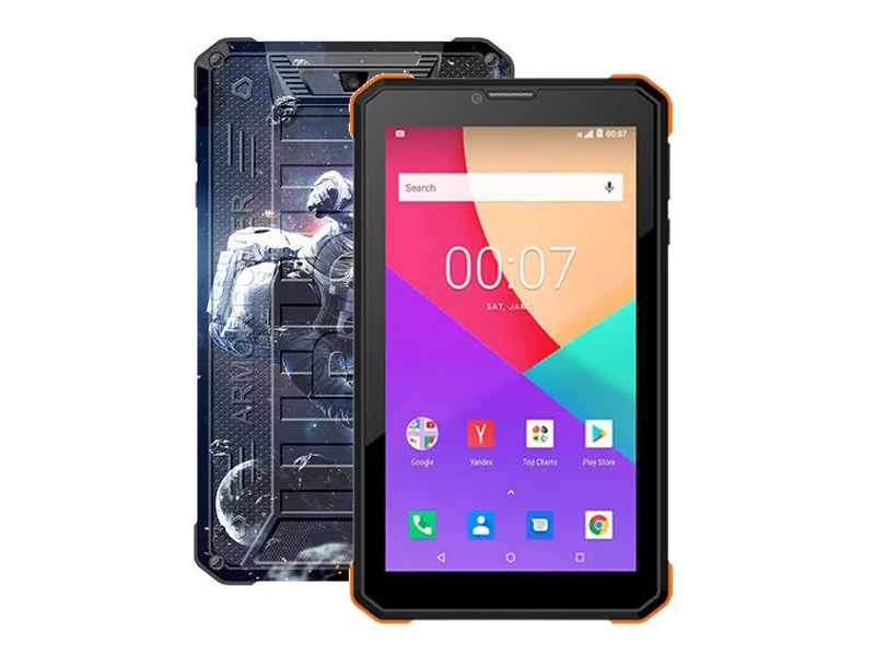 Планшет BQ 7098G Armor Power Print 6 (Unisoc SC7731E 1.3GHz/1024Mb/8Gb/3G/GPS/Wi-Fi/Bluetooth/Cam/7.0/1024x600/Android)