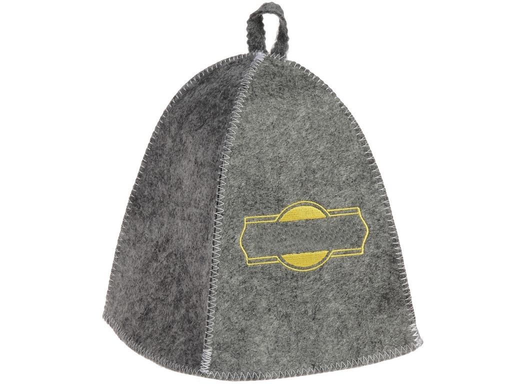 Шапка банная Добропаровъ Классическая Grey-Gold 3341048