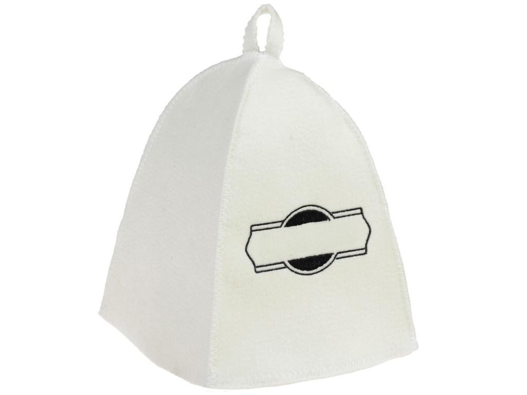Шапка банная Добропаровъ Классическая White-Black 3341047