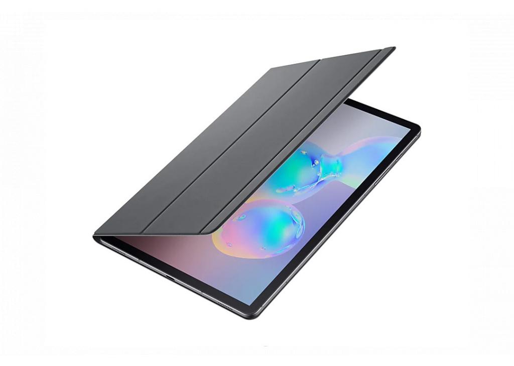Аксессуар Чехол для Samsung Galaxy T860/865 BookCover Gray EF-BT860PJEGRU