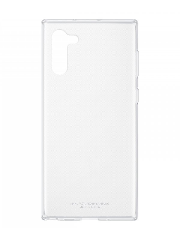 Аксессуар Чехол для Samsung Galaxy N970 ClearCover Clear EF-QN970TTEGRU
