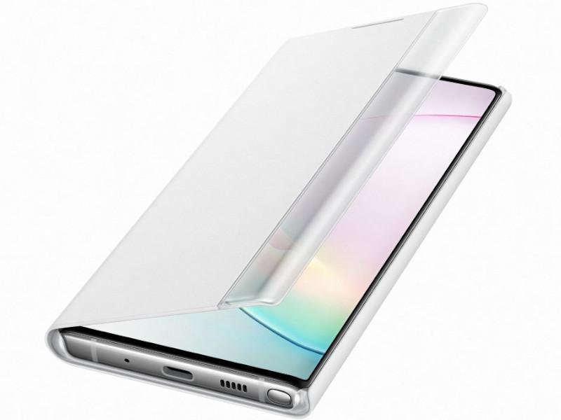 Чехол для Samsung Galaxy N970 ClearView White EF-ZN970CWEGRU
