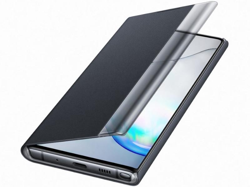 Аксессуар Чехол для Samsung Galaxy N970 ClearView Black EF-ZN970CBEGRU аксессуар чехол with love moscow samsung galaxy j7 2017 кожаный black 10207