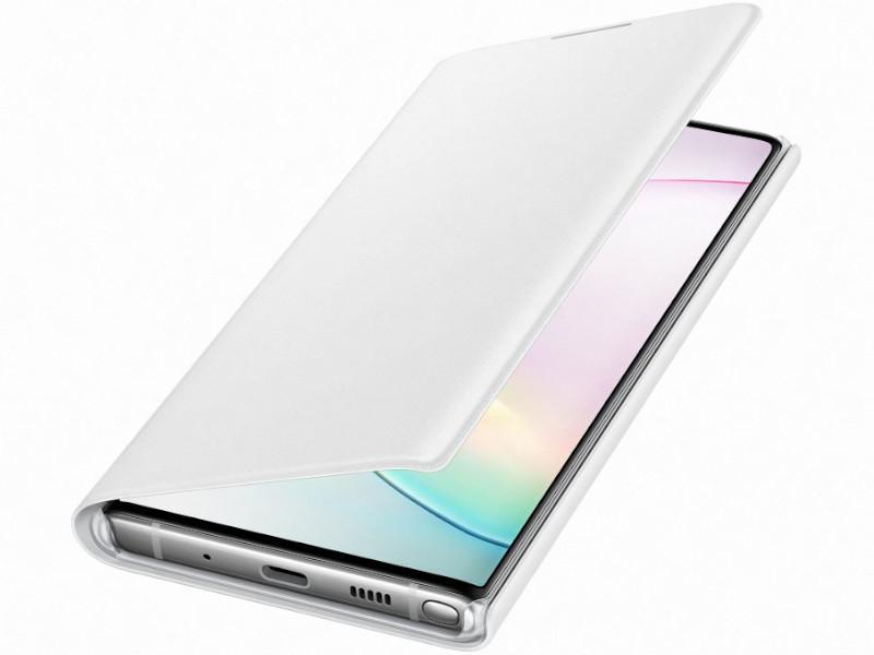Чехол для Samsung Galaxy N970 LED-View White EF-NN970PWEGRU