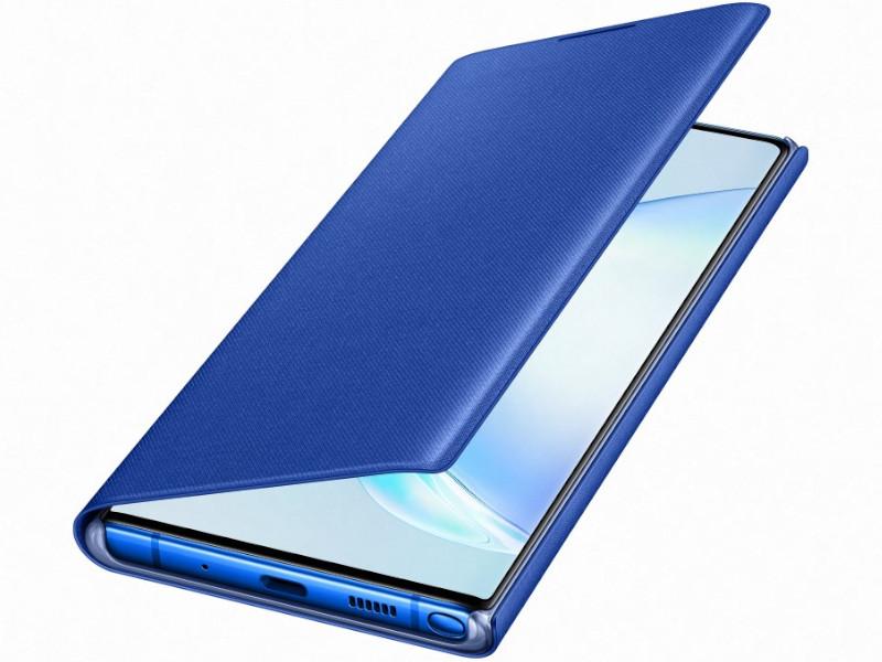Аксессуар Чехол для Samsung Galaxy N975 LED-View Blue EF-NN975PLEGRU