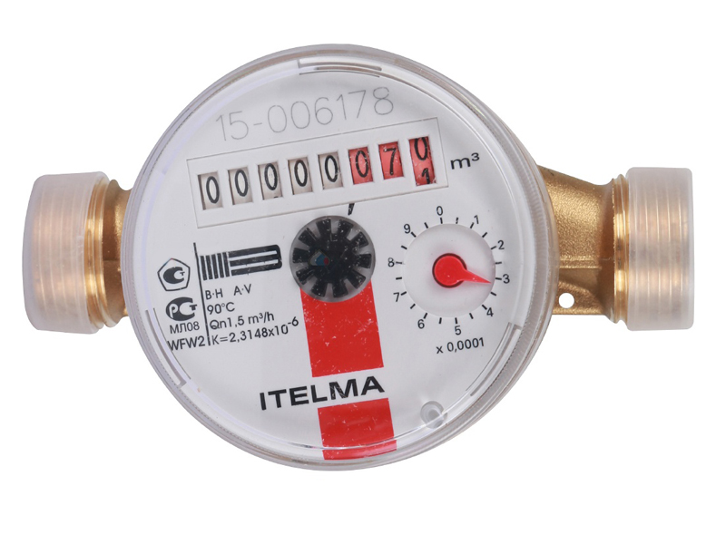 Счётчик горячей воды Itelma WFW20.D110
