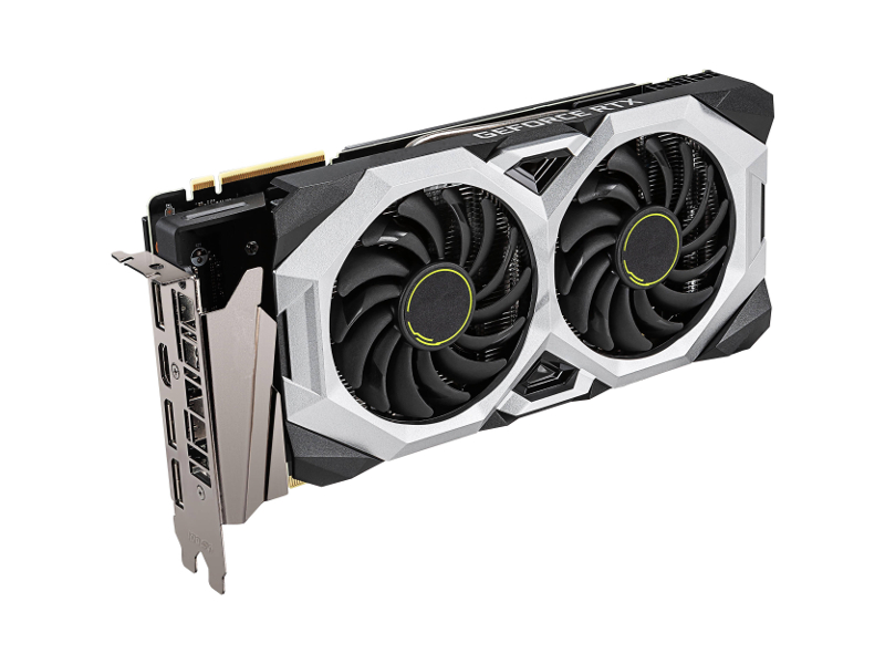 Видеокарта MSI GeForce RTX 2070 Super Ventus 1770Mhz PCI-E 3.0 8192Mb 14000Mhz 256 bit HDMI 3xDP