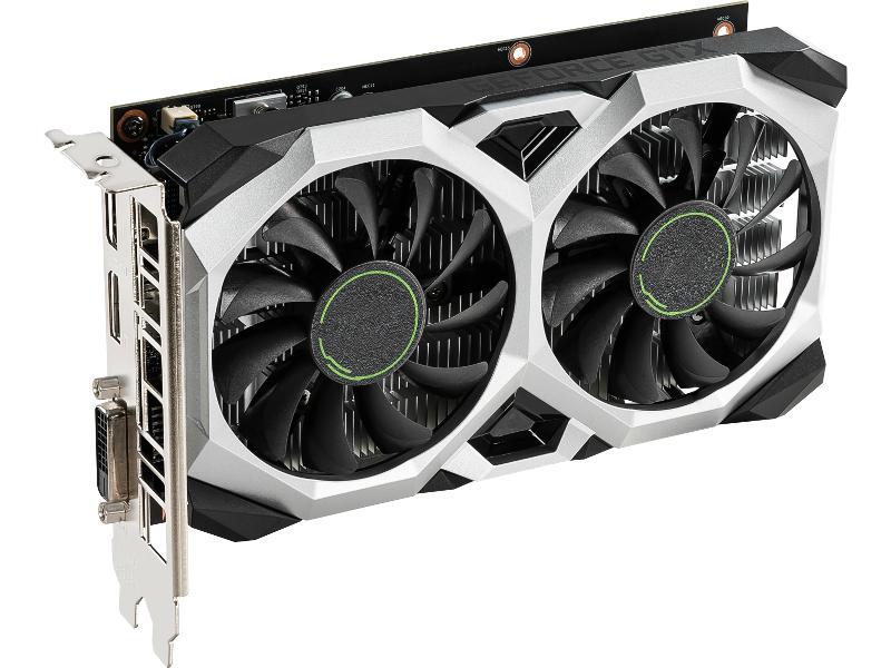 Видеокарта MSI GeForce GTX 1650 Ventus XS 4G 1665Mhz PCI-E 3.0 4096Mb 8000Mhz 128 bit HDMI DP DL-DVI-D VENTUS