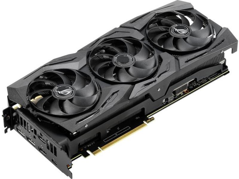 Видеокарта ASUS ROG Strix GeForce RTX 2070 Super OC 1635Mhz PCI-E 3.0 8192Mb 14000Mhz 256 bit USB-C 2xDP 2xHDMI HDCP ROG-STRIX-RTX2070S-O8G-GAMING