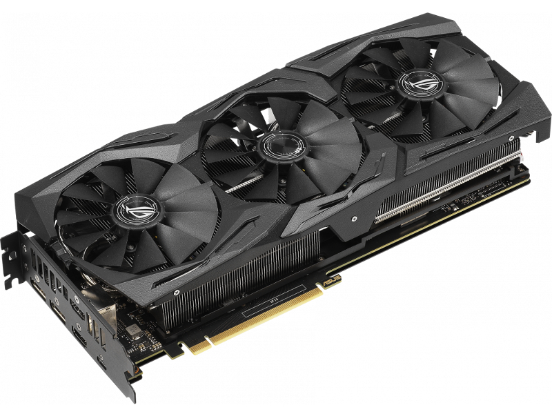 Видеокарта ASUS ROG Strix GeForce RTX 2070 Super Advanced 1635Mhz PCI-E 3.0 8192Mb 14000Mhz 256 bit USB-C 2xDP 2xHDMI HDCP ROG-STRIX-RTX2070S-A8G-GAMING