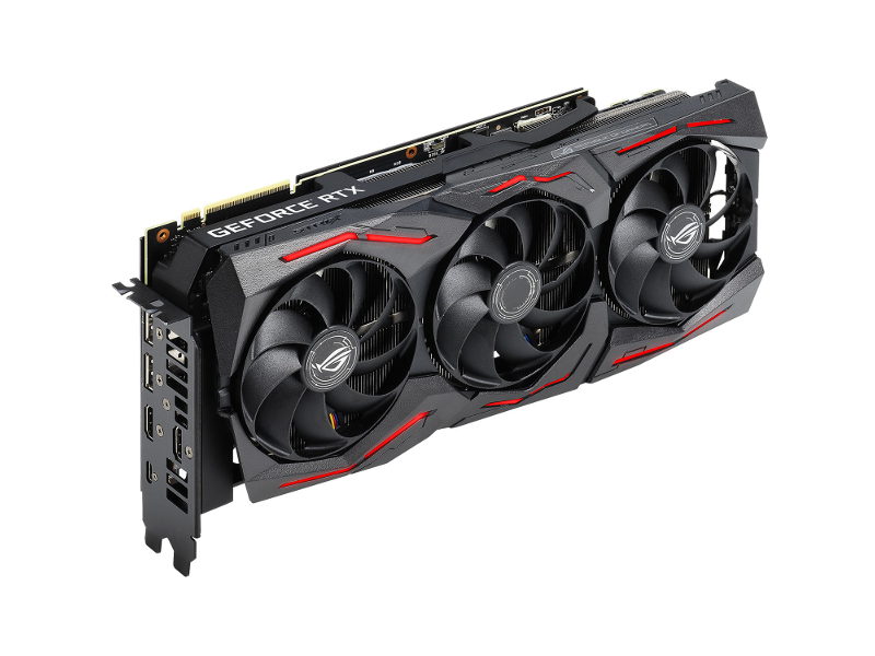 Видеокарта ASUS ROG Strix GeForce RTX 2070 Super 1635Mhz PCI-E 3.0 8192Mb 14000Mhz 256 bit USB-C 2xDP 2xHDMI HDCP ROG-STRIX-RTX2070S-8G-GAMING fenruien brand 17 inch laptop backpack men usb charging travel backpacking school bag nylon waterproof anti theft backpacks