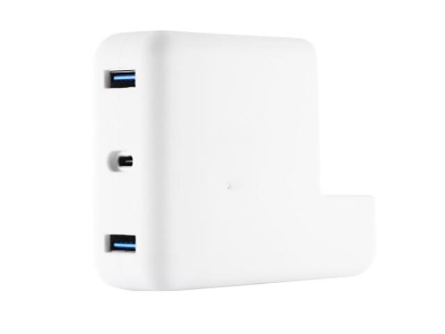 Аксессуар Переходник XtremeMac для MacBook Charging Hub White XWH-MCA-03
