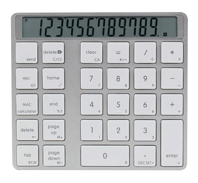 Клавиатура XtremeMac Numpad Bluetooth Calculator XWH-CMN-83