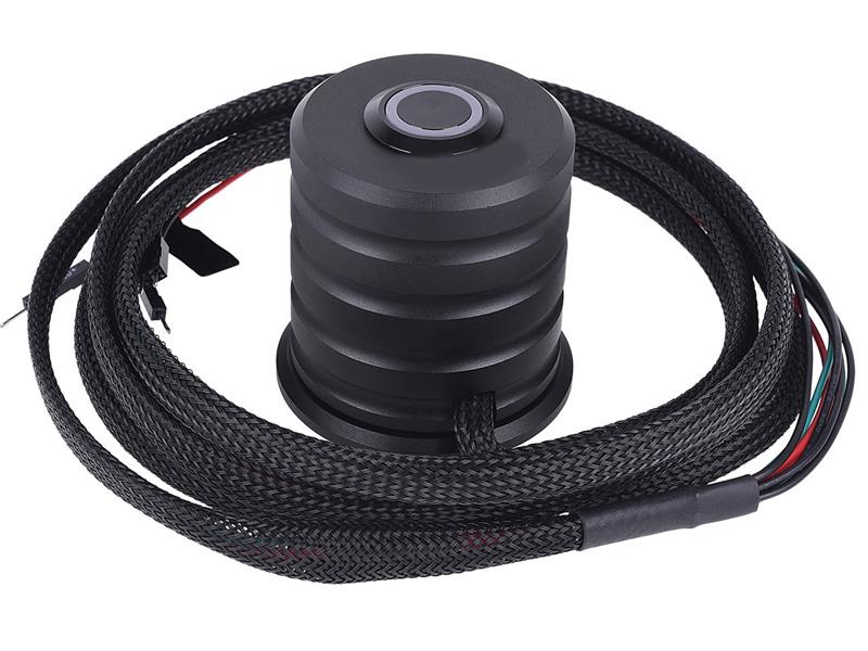 Выносной выключатель питания ПК Alphacool Powerbutton 19mm Deep Black 17434