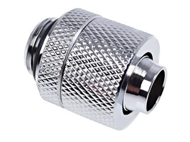 Фитинг для мягких шлангов Alphacool Eiszapfen 13/10mm G1/4 Chrome 17227/1011156