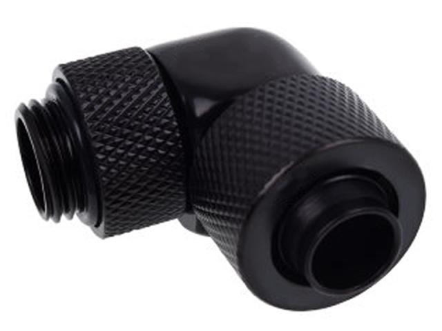 Фитинг для мягких шлангов Alphacool Eiszapfen 13/10mm 90deg G1/4 Deep Black 17230/1011159