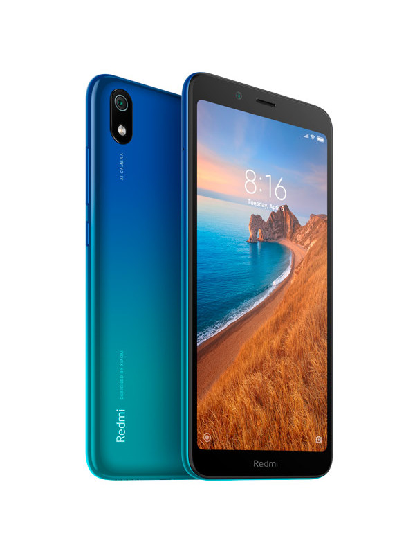 Сотовый телефон Xiaomi Redmi 7A 2/32Gb Blue New Выгодный набор + серт. 200Р!!!
