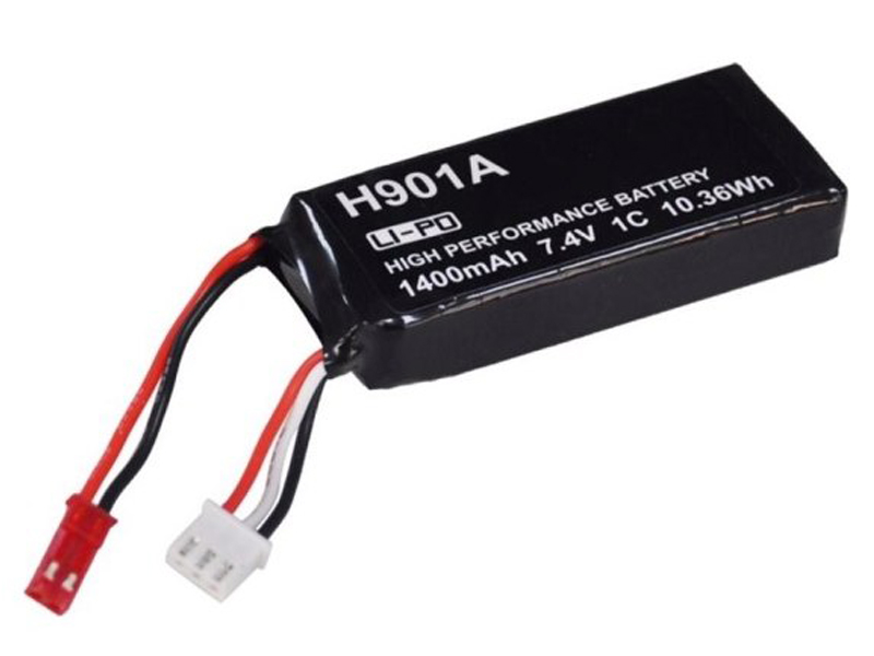 Аккумулятор к Hubsan H901A 7.4V 1400mAh для ДУ H501 / H502