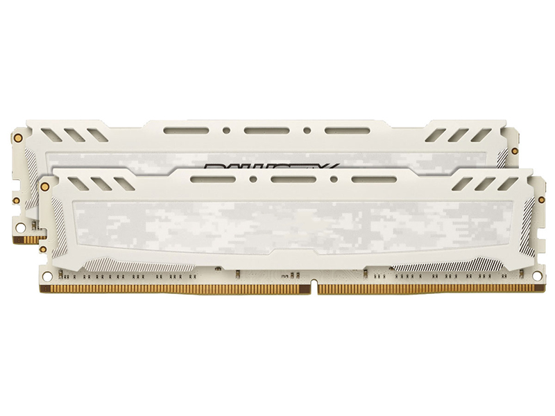 Модуль памяти Crucial Ballistix Sport DDR4 DIMM 2400MHz PC4-19200 CL16 - 32Gb KIT (2x16Gb) BLS2K16G4D240FSC