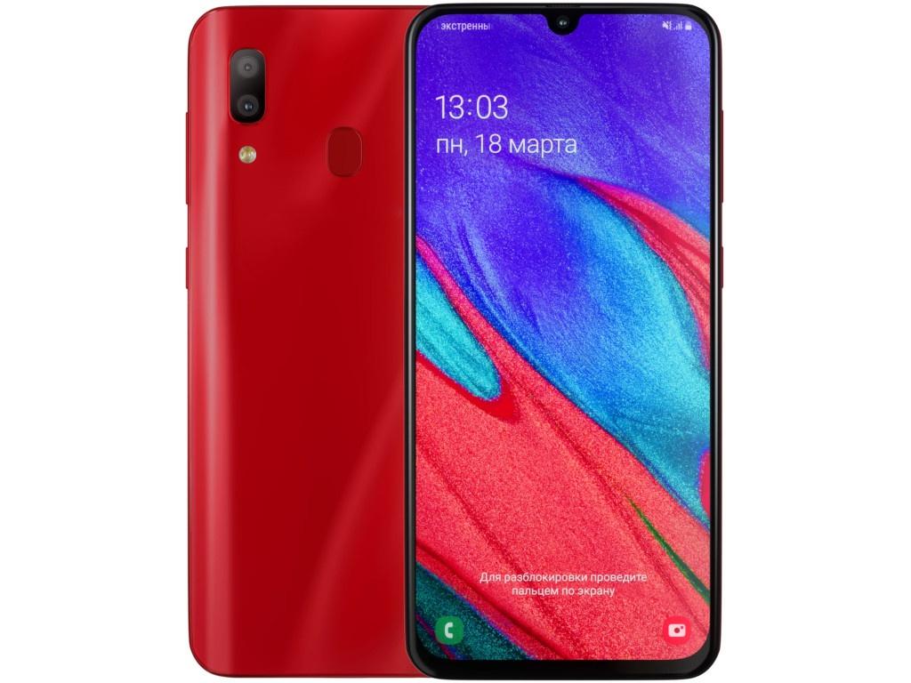 Сотовый телефон Samsung SM-A405F Galaxy A40 4Gb/64Gb Red